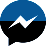 Deep Black Facebook Messenger Theme