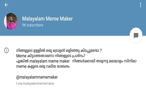Rating: telegram malayalam news channels