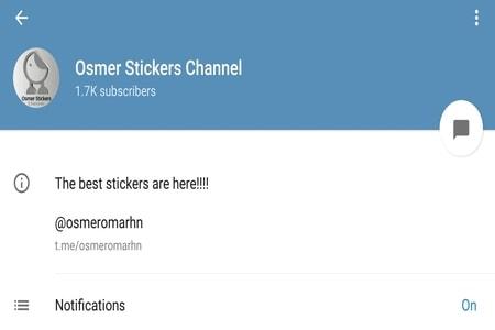 Osmer Telegram Stickers