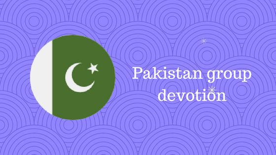 Pakistan group devotion