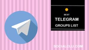 TELEGRAM GROUPS LINK JOIN