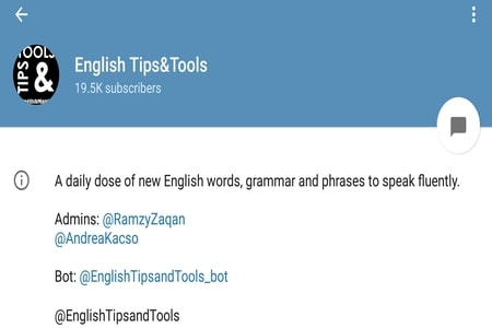 English Tips and Tool