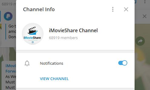 Best movie channel in telegram