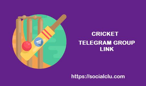 cricket telegram group link