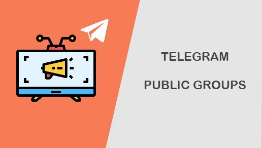 Telegram public groups